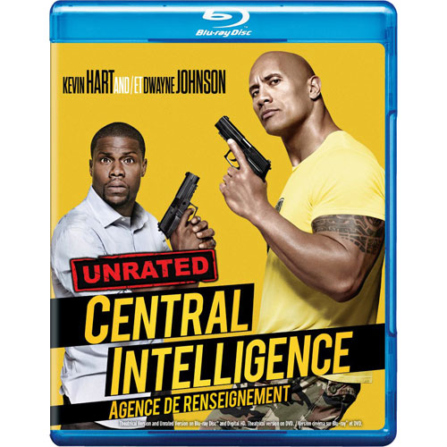 Central Intelligence (Bilingual) (Blu-ray Combo) (2016)