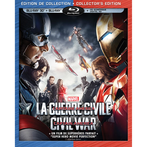 Marvel's Captain America: Civil War (Bilingual) (3D Blu-ray) (2016)