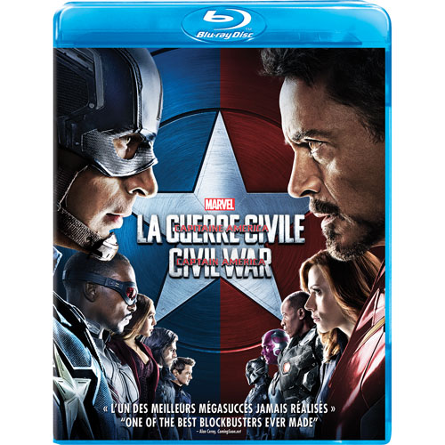 Marvel's Captain America: Civil War (bilingue) (Blu-ray) (2016)