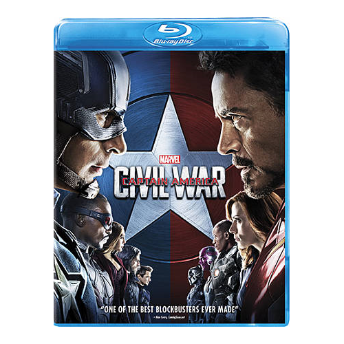 Marvel's Captain America: Civil War (English) (Blu-ray) (2016)