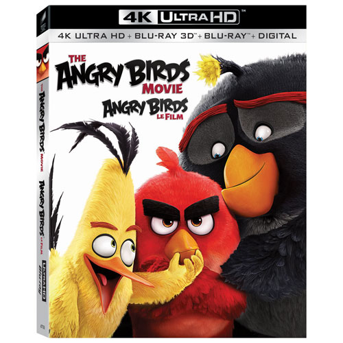 The Angry Birds Movie (Bilingual) (4K Ultra HD) (Blu-ray Combo) (2016)