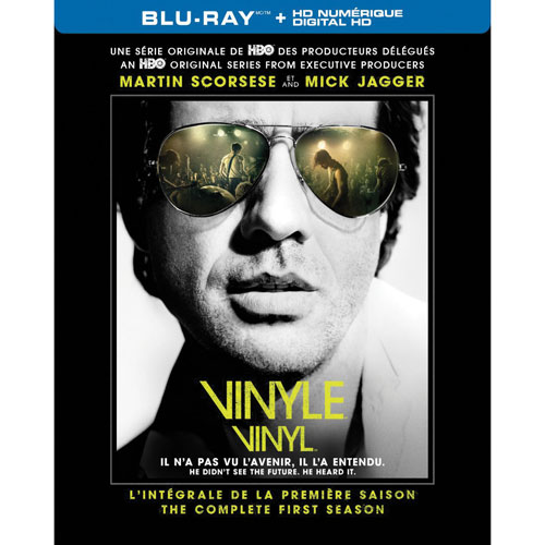 VINYL: The Complete First Season (French) (Blu-ray)