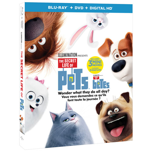 The Secret Life of Pets (combo Blu-ray) (2016)