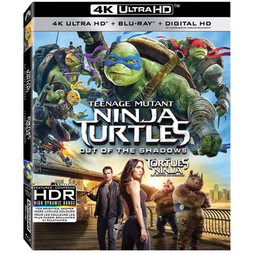 Teenage Mutant Ninja Turtles: Out Of The Shadows (Ultra HD 4K) (combo Blu-ray) (2016)