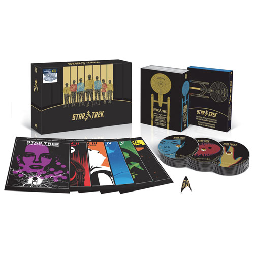 Star Trek 50th Anniversary Edition (Includes Limited Edition Villains Poster) (Only at Best Buy) (Blu-ray)