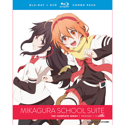 Mikagura School Suite Complete Series (combo Blu-ray)