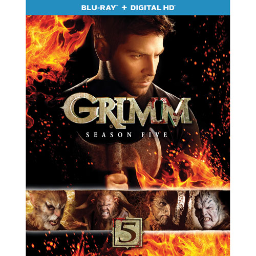 Grimm: saison 5 (Blu-ray)