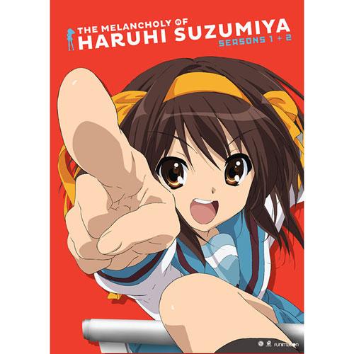 Melancholy Haruhi Suzumiya: Season 1 & 2