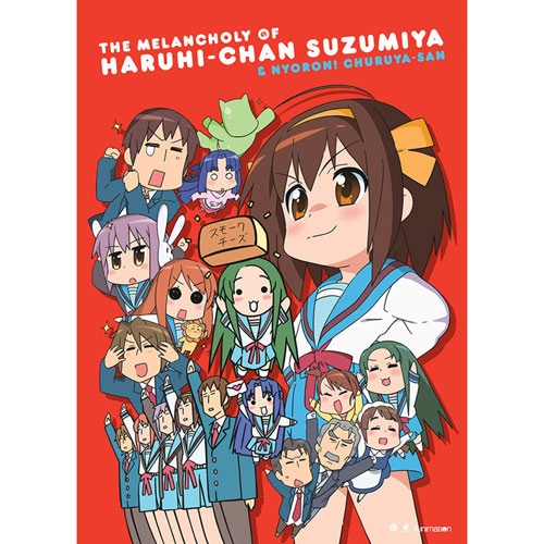 Melancholy Of Haruhi-Chan Suzumiya & Nyoron: The Complete Series