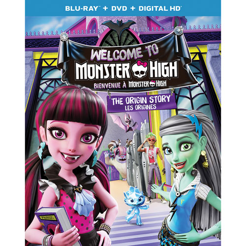 Welcome to Monster High (combo Blu-ray)