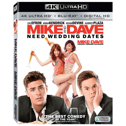 Mike and Dave Need Wedding Dates (4K Ultra HD) (Blu-ray Combo) (2016)