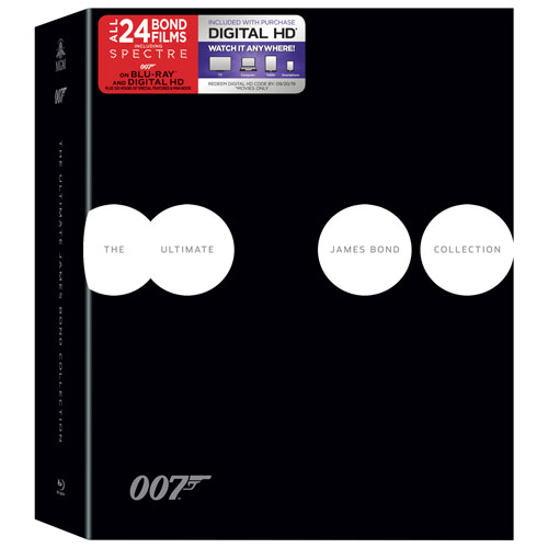 James Bond Ultimate Spectre Collection (Blu-ray)