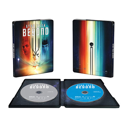 Star Trek Beyond (coffret SteelBook) (Seulement à Best Buy) (combo Blu-ray) (2016)