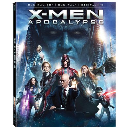 X-Men: Apocalypse (combo Blu-ray 3D) (2016)