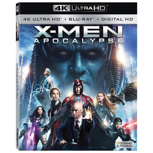 X-Men: Apocalypse (Ultra HD 4K) (combo Blu-ray) (2016)