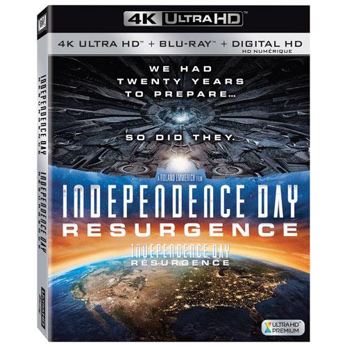 Independence Day: Resurgence (Ultra HD 4K) (combo Blu-ray) (2016)