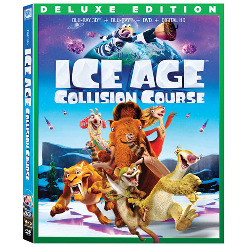 Ice Age: Collision Course (3D Blu-ray Combo) (2016)