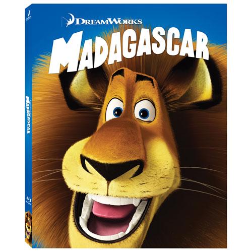 Madagascar (With Movie Money) (Blu-ray Combo)