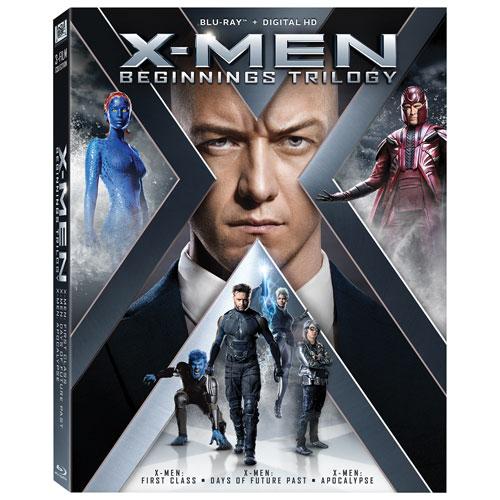 X-Men: Beginnings Trilogy (Blu-ray)