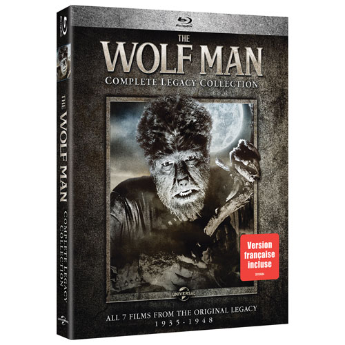 Wolf Man Complete Legacy Collection (Blu-ray)