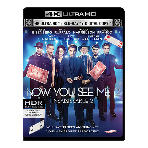 Now You See Me 2 (Ultra HD 4K) (combo Blu-ray) (2016)