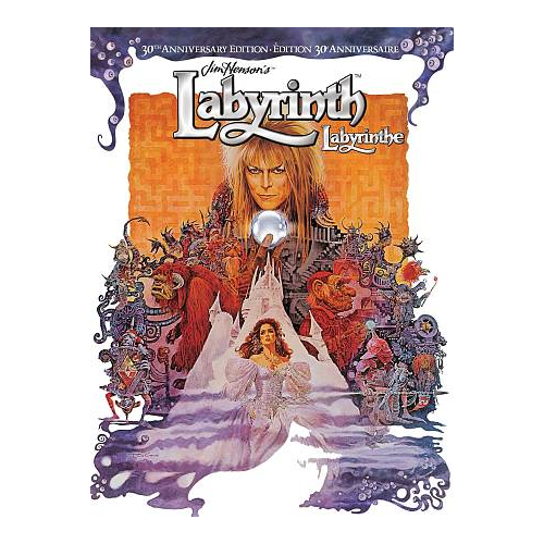 Labyrinth (édition 30e anniversaire) (bilingue) (Blu-ray) (1986)