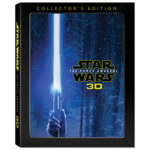 Star Wars: The Force Awakens (Collector's Edition) (English) (3D Blu-ray Combo)