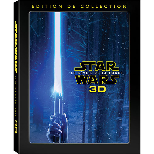 Star Wars: The Force Awakens (Collector's Edition) (Bilingual) (3D Blu-ray Combo)
