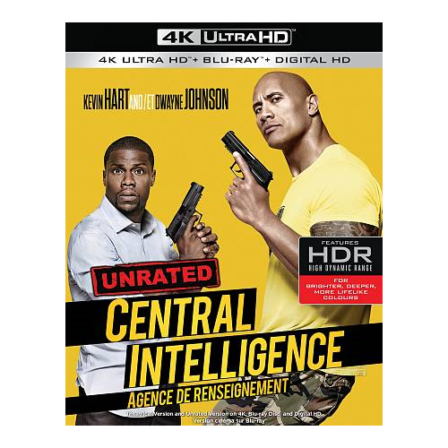 Central Intelligence (Ultra HD 4K) (combo Blu-ray) (2016)