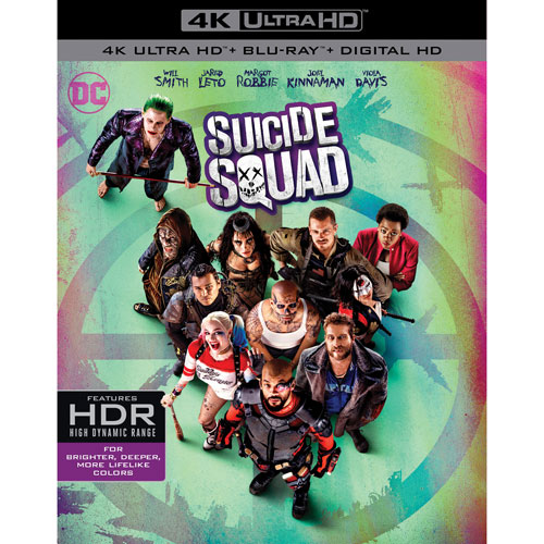 Suicide Squad (Ultra HD 4K) (combo Blu-ray) (2016)
