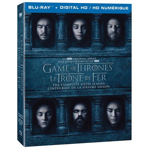 Game of Thrones: l'intégrale de la sixième saison (bilingue) (Blu-ray)
