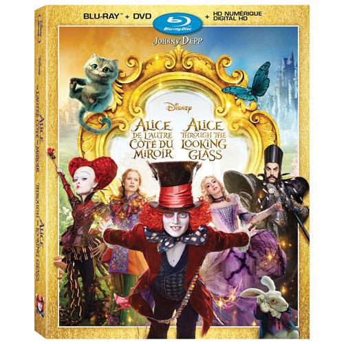 Alice Through the Looking Glass (Bilingual) (Blu-ray Combo) (2016)