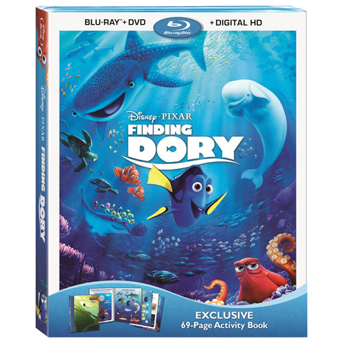 Finding Dory (anglais) (Seulement à Best Buy) (combo Blu-ray) (2016)
