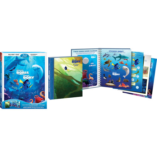 Finding Dory (bilingue) (Seulement à Best Buy) (combo Blu-ray) (2016)