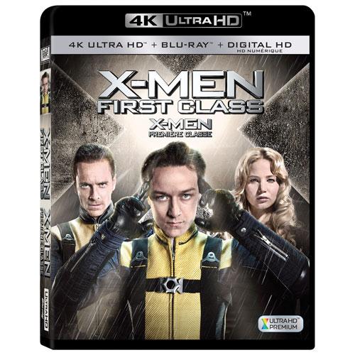 X-MEN First Class (Ultra HD 4K) (combo Blu-ray)