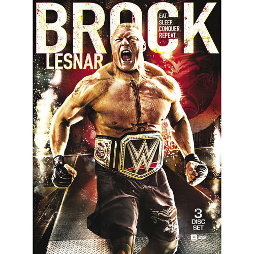 WWE 2016: Brock Lesnar - Eat Sleep Conquer Repeat