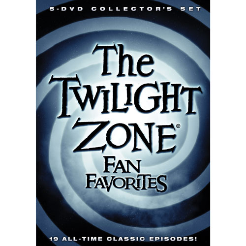 The Twilight Zone: Fan Favorites 5-DVD Collector's Set