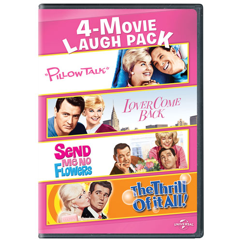 4-Movie Laugh Pack: Pillow Talk/ Lover Come Back