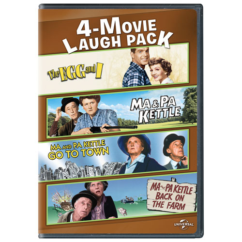 4-Movie Laugh Pack: The Egg and I/ Ma & Pa Kettle