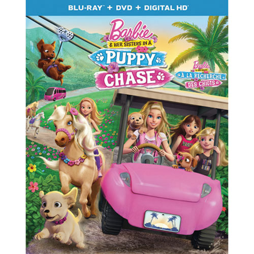 Barbie & Her Sisters in a Puppy Chase (Blu-ray Combo)