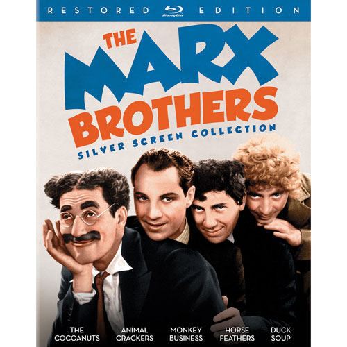 Marx Brothers Silver Screen Collection (Blu-ray)