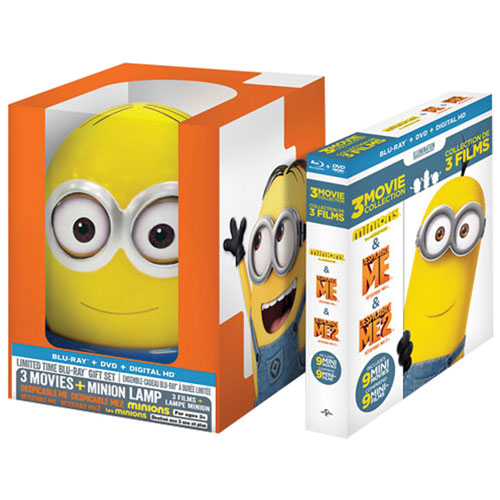 Despicable Me: 3 Movie Collection (Minion Lamp Gift Set) (Blu-ray Combo)