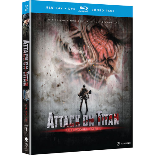 Attack on Titan Part 1 (Blu-ray Combo)