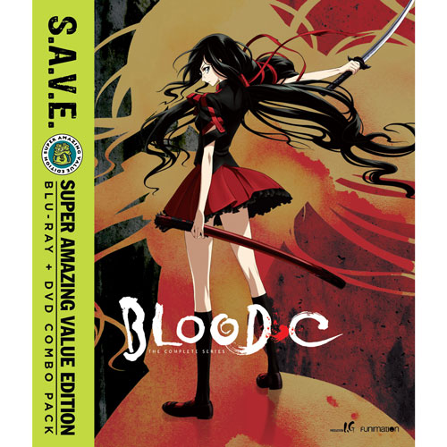 Blood-C: Complete Series (Blu-ray Combo)