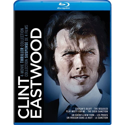 Clint Eastwood: 4 Movie Thriller Collection (Blu-ray)