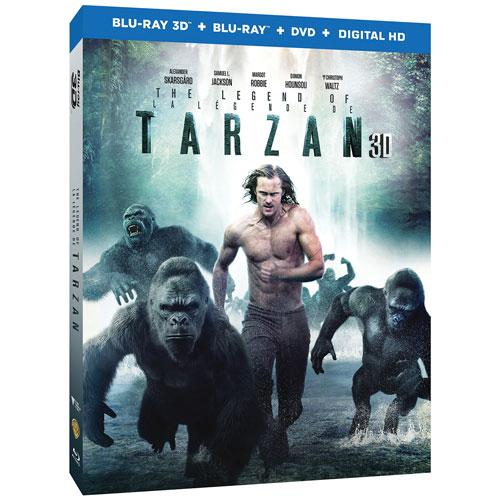 The Legend Of Tarzan (3D Blu-ray Combo) (2016)