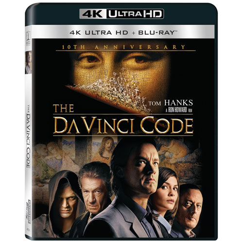 The Da Vinci Code (Ultra HD 4K) (Combo Blu-ray)