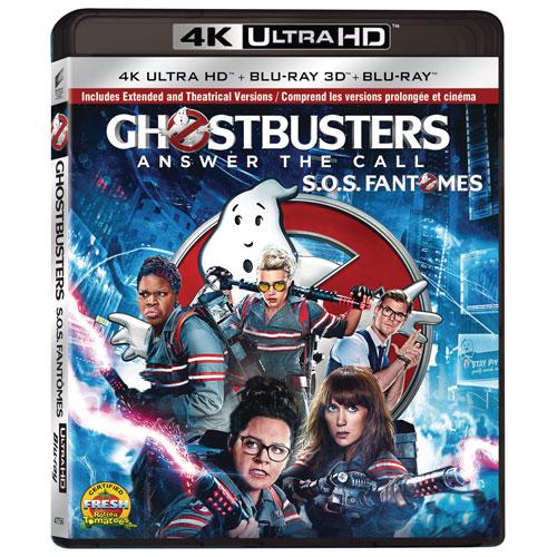 Ghostbusters (4K Ultra HD) (Blu-ray Combo) (2016)