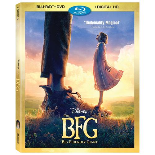 The BFG (English) (Blu-ray Combo) (2016)