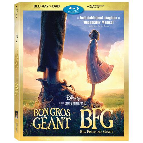 The BFG (Bilingual) (Blu-ray Combo) (2016)